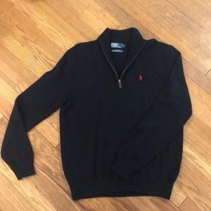 Men's black Polo by Ralph Lauren sweater